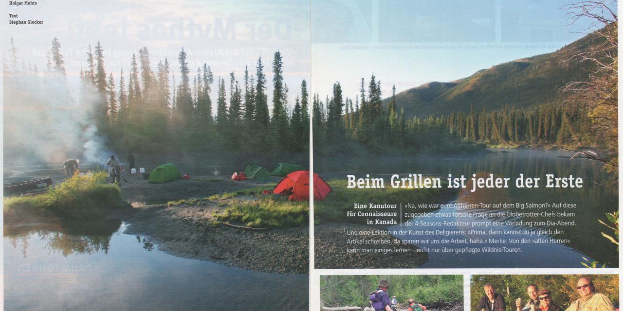Big Salmon River Yukon Territory Canada 2007